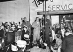 Abbott & Costello entertaining the troops